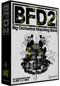 FXPansion - BFD Big Orchestral & Marching Band 1.0.0 - библиотека сэмплов оркестровые ударные инструменты BFD 2