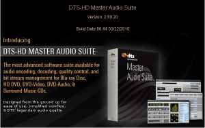 DTS-HD Master Audio Suite v2.50.20 � �������� ��� ����������� ������� DTS