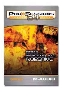M-Audio Pro Sessions 24 Bunker 8 Beyond Foley Vol.1 Inorganic - ������������ ���������� �������� ��������