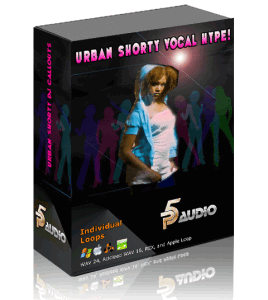 P5Audio releases Urban Shorty Vocal Hype - сэмплы вокала НОВИНКА!