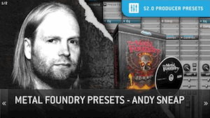 Toontrack Andy Sneap Presets - Пресеты для Superior Drummer 2.2.2 от Andy Sneap