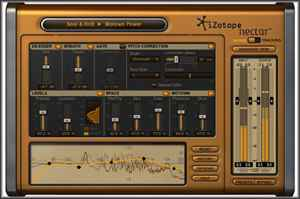iZotope's Nectar Complete Vocal Suite v1.11   Mac and Win OS