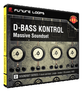 Futureloops - D-Bass Kontrol – Massive Soundset