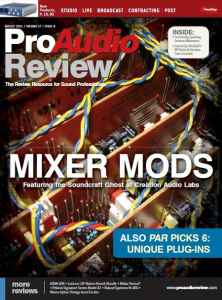 ProAudio Review - August 2011