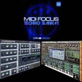 �������, ������, ���� - 5Pin Media MIDI Focus Techno Bank 1