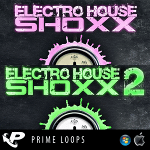 сэмплы электро Prime Loops - Electro House Shoxx Vol 1 & Vol 2 [WAV]