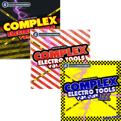 сэмплы электро Noisefactory Complex Electro Tools Vol. 1-3 MULTiFORMAT