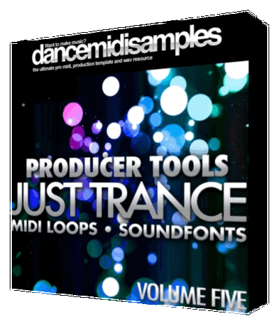 MIDI файлы - DMS Producer Tools Just Trance Vol 5 (MIDI/SF2)