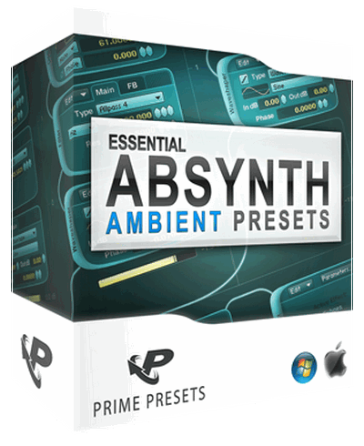 ������� ��� Absynth - Prime Loops Essential Ambient Presets for Absynth