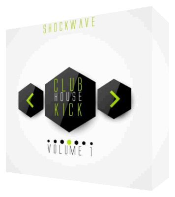 сэмплы бочек - Shockwave Club House Kick Vol 1 (WAV)
