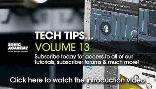 ����� �������� - Sonic Academy Tech Tips Volume 13 (ENG)