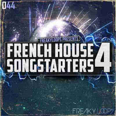 сэмплы electro - Freaky Loops French House Songstarters 4 (WAV)