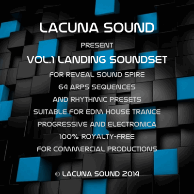 ������� ��� Spire - Lacuna Sound LANDING Soundset for Spire