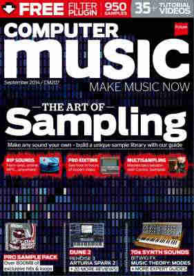 журнал - Computer Music Magazine - September 2014 + DVD Content