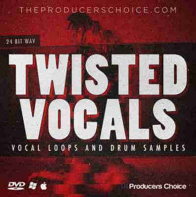 ������ hip hop - Producers Choice Twisted Vocals and Drum Sample Library (WAV)