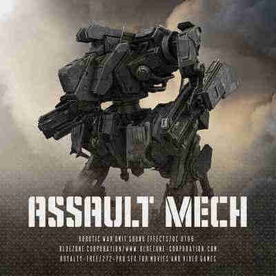 звуковые эффекты - Bluezone Corporation Assault Mech Robotic War Unit
