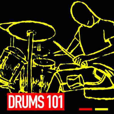 сэмплы ударных - GR8 Audio Samples Drums 101 (WAV/MIDI)
