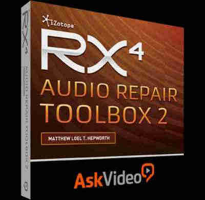 ����� �������� - Ask Video iZotope RX 4 Audio Repair Toolbox 2 (ENG)
