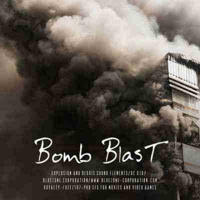 звуковые эффекты - Bluezone Corporation Bomb Blast Explosions and Debris Sound Elements (WAV/AIFF)