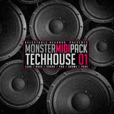 сэмплы tech house - Delectable Records Tech House Monster MIDI Pack 01 (WAV/MIDI)