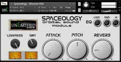 unEarthed Sampling Spaceology (KONTAKT)
