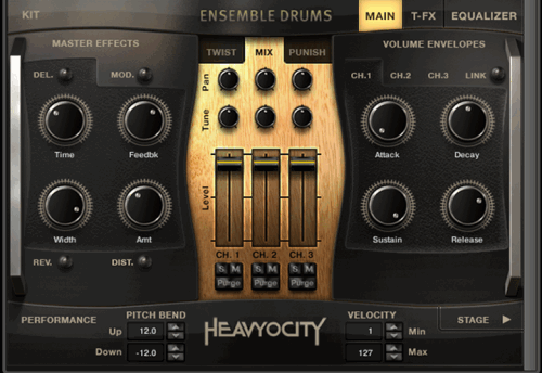 Heavyocity Master Sessions Ensemble Drums Collection (KONTAKT)