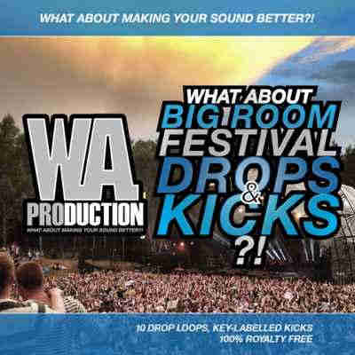 сэмплы edm - W.A Production What About Big Room Festival Drops and Kicks (WAV/MIDI)