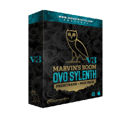 ������� ��� Sylenth1 - Industry Kits Marvins Room OVO V3 PresetBank Sylenth