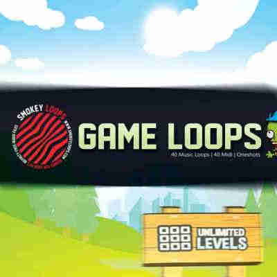 сэмплы dubstep / glitch - Smokey Loops Game Loops (WAV/MIDI)