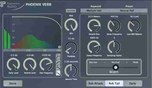 Exponential Audio PhoenixVerb Stereo Reverb v2.1.3 AAX VST2 x86 x64 (Win) - ревербератор